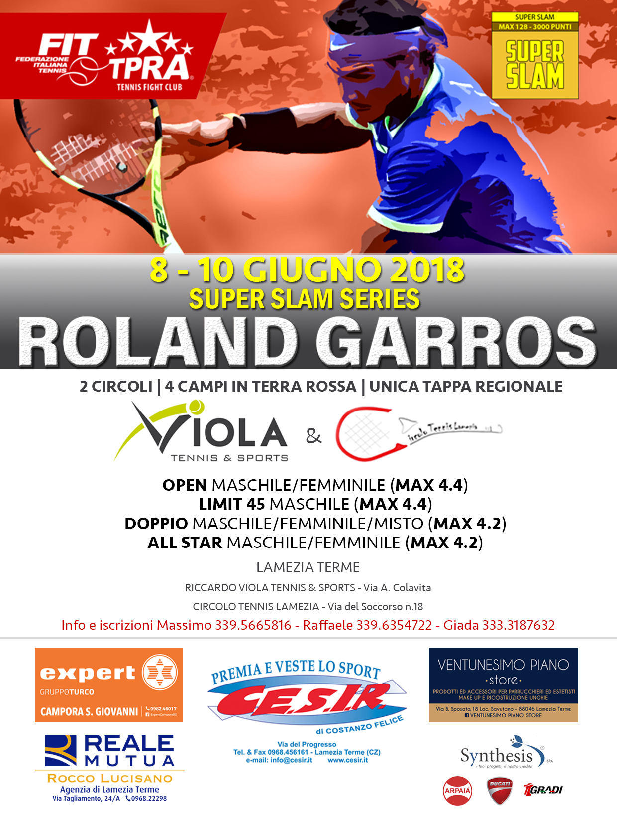 Super Slam Series - Roland Garros