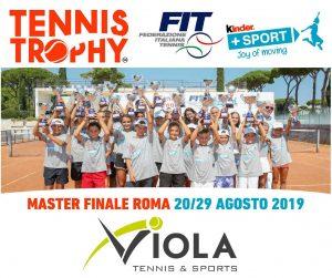 Tennis Trophy - Kinder 2019