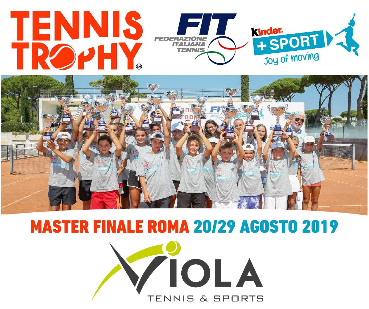 Tennis Trophy - Kinder 2019