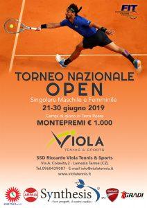 Locandina - Torneo Nazionale Open 2019