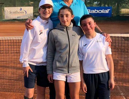 Tennis: under 12 femminile –  Viola Tennis & Sports campione regionale 2019