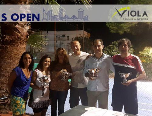 Perugino e Servello conquistano lo US Open a Lamezia Terme