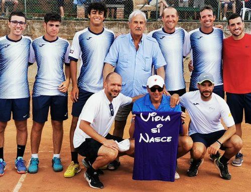 """""""VIOLA TENNIS & SPORTS"""" CAMPIONE REGIONALE DI SERIE C MASCHILE 2020 PROMOSSA IN SERIE B"""