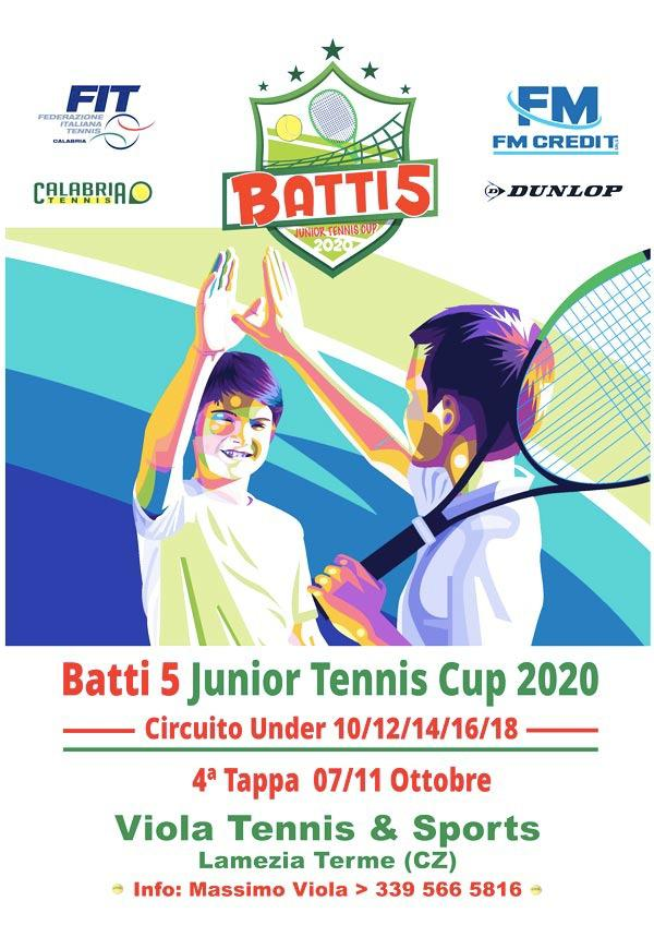 Batti 5 - Junior tennis cup 2020