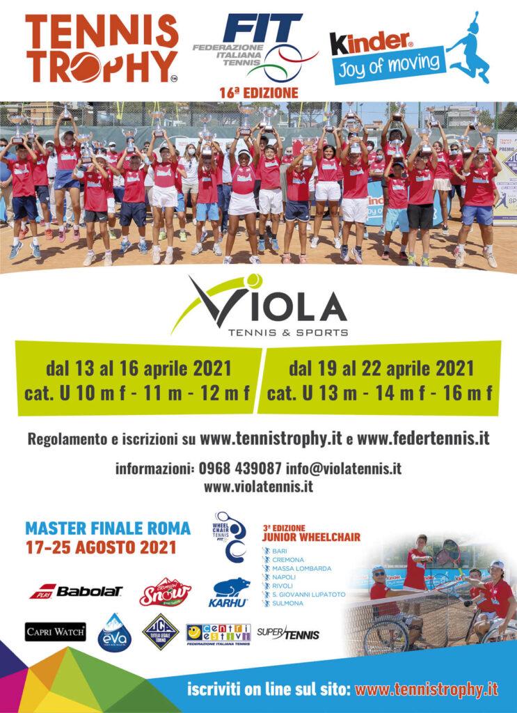 Locandina Tennis Trophy 2021