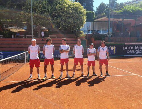 Pareggio importante a Perugia per la Viola Tennis