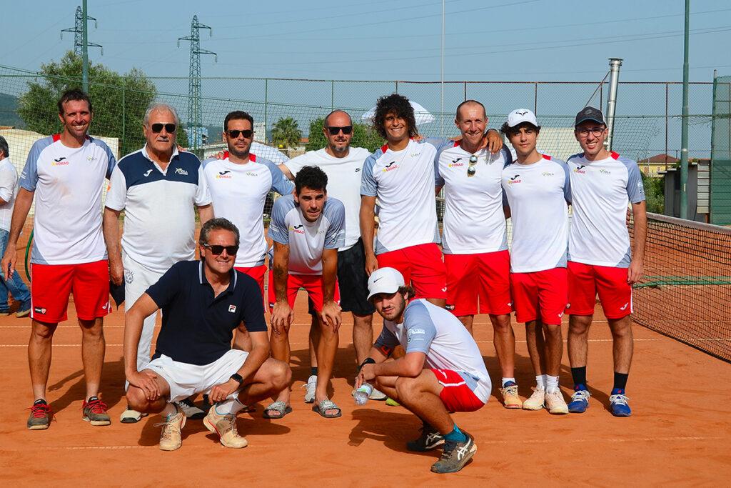 Il TC Pharaon costringe la Viola Tennis ai Play Off - la squadra